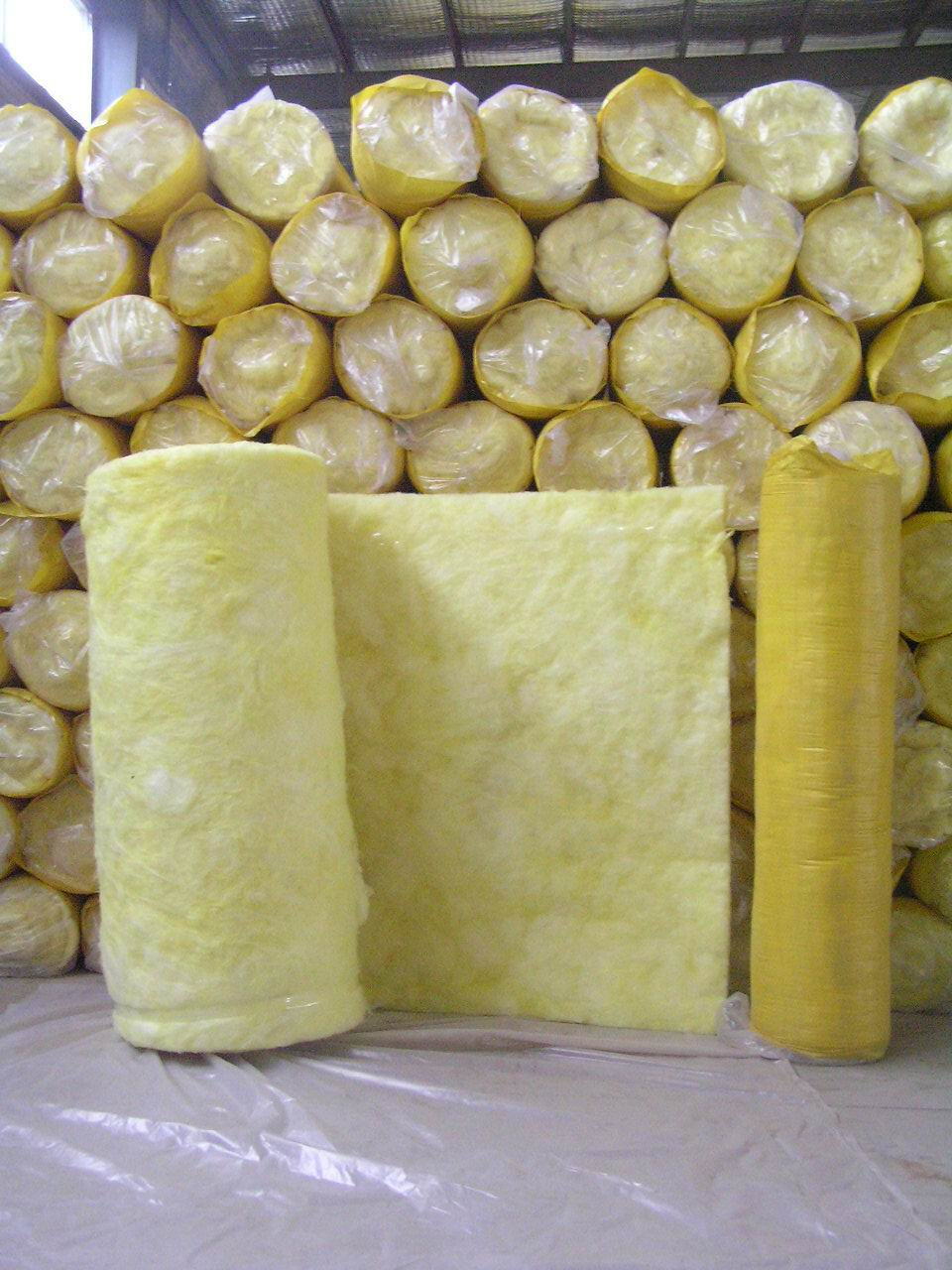 玻璃棉卷毡具有良好的绝热、吸声性能!